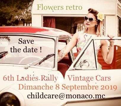 Fundraising Rally By Child Care Monaco