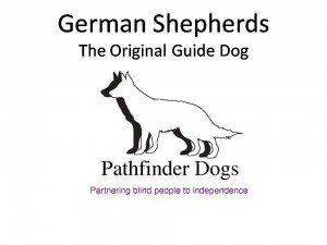 Supporting Pathfinder Dogs. A registered charity who support the blind and their independence. Please visit their website to see how you too can help and get involved. www.pathfinderdogs.org or click on the image