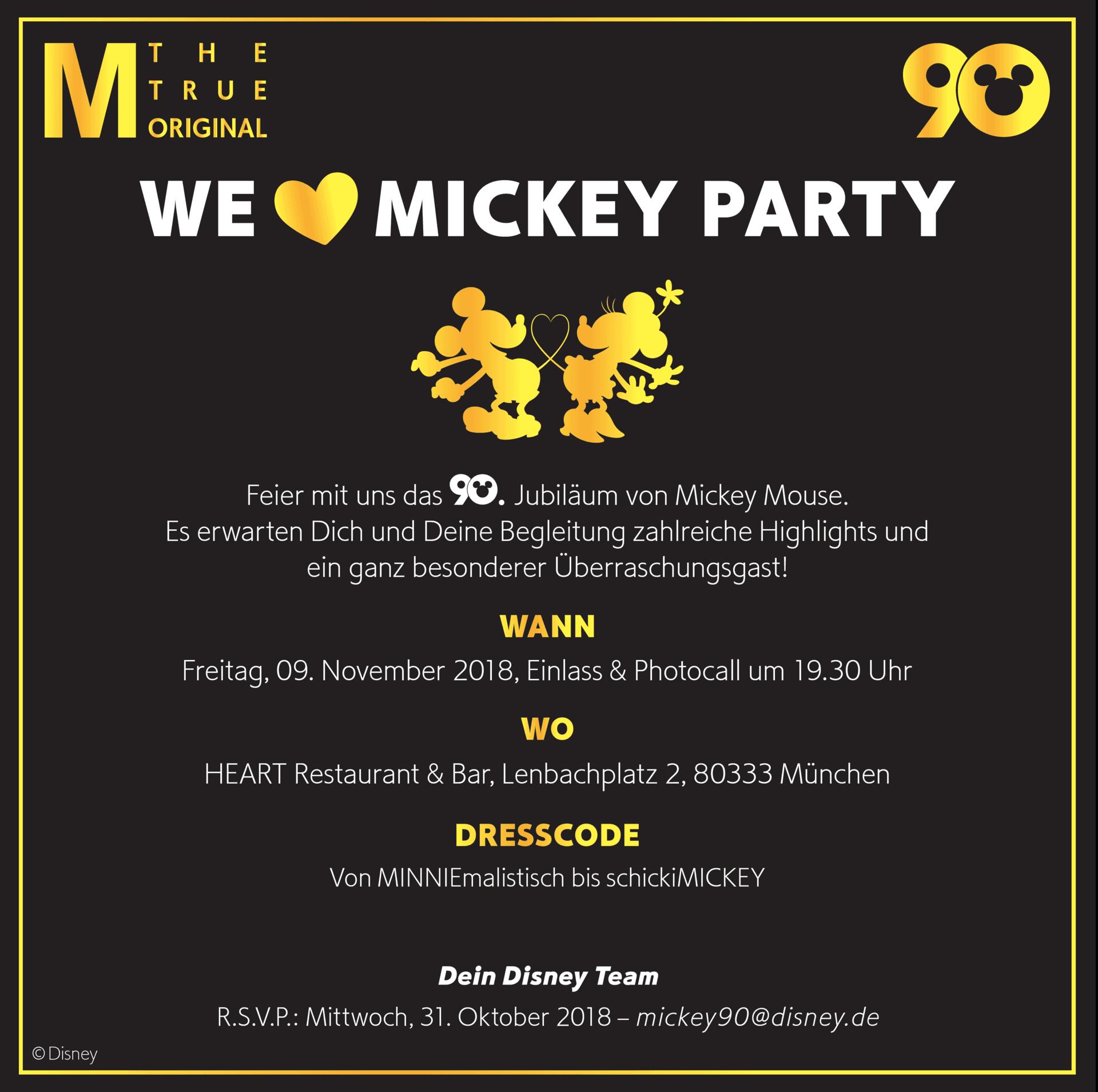 Micky Maus Feiert Geburtstag Und Ich War Dabei