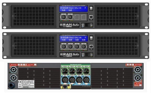 Play Audio - Etapas de Potencia - Ram Audio
