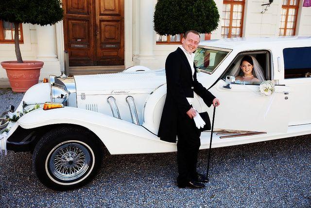 Excalibur Stretchlimousine  Ideal für Hochzeiten.