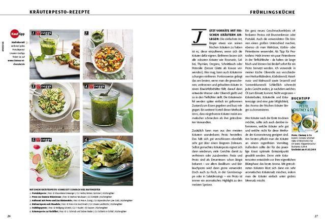Sommerküche Voller Sonne Und Aroma : FrÜhlingskrÄuter