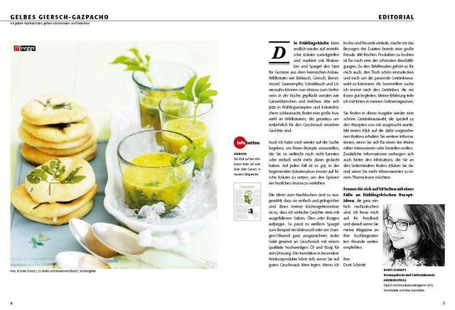 Sommerküche Voller Sonne Und Aroma : Giersch rezepte