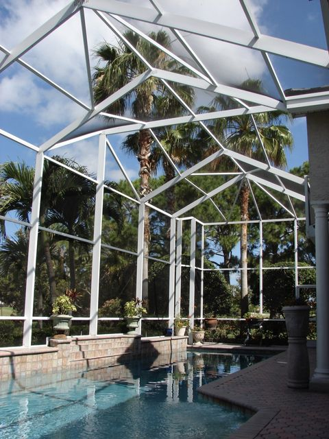Pool Enclosures St Petersburg Largo Seminole Clearwater Rescreen