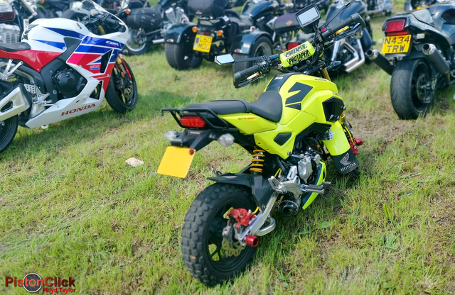 Riding a Grom to the inSpire ride in 2019
