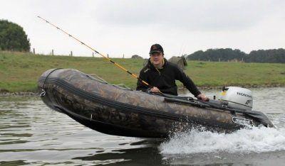Motorboot Aluboden Schlauchboot 420 mission-craft Panther schwarz