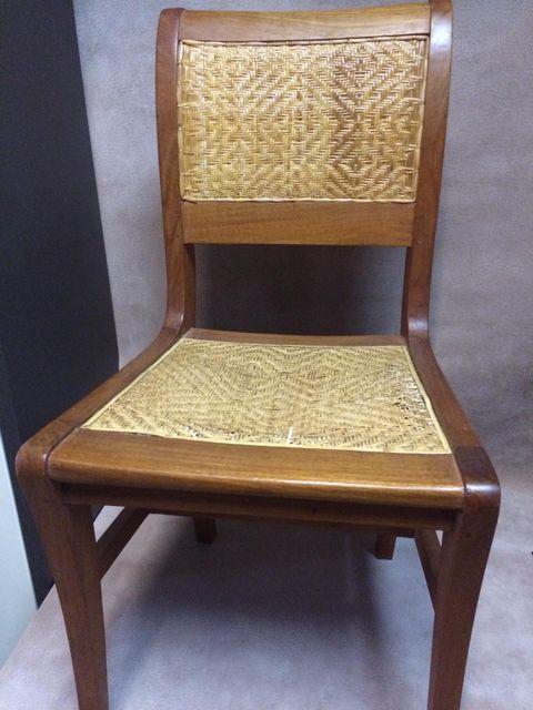 Stuhlflechterei