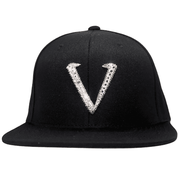 VS01 Vinceri UK Swarovski Crystal SnapBack with Clear Crystals 56b8d0bc1cbb