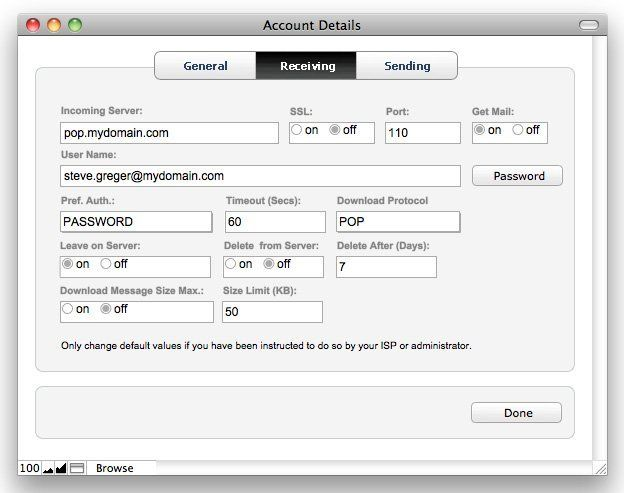 Mailit free email Starter Solutions for email with FileMaker