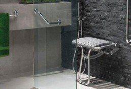 Salle de bain italienne adapt a votre budget petite - Siege pour douche italienne ...