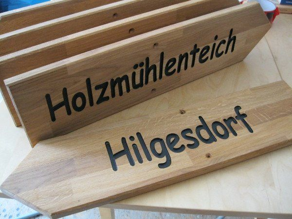 holzschilder und holz gravieren prospektst nder. Black Bedroom Furniture Sets. Home Design Ideas
