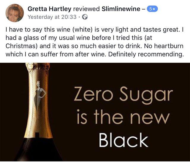 Slimline wine weight watchers