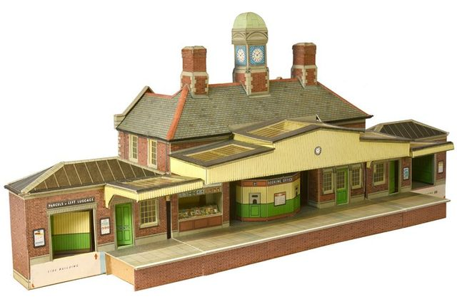 Modelismo ferroviario SQA11 STATION MASSTERS HOUSE SuperQuick Models