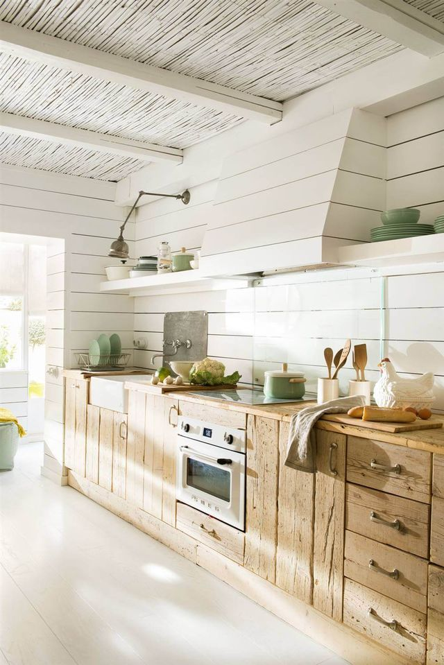 40 Cocinas Rusticas Con Mucho Encanto Decoration And Design