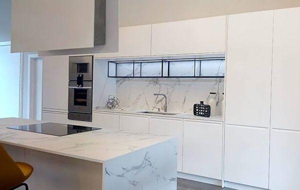 Cocinas BLANCAS - Mueble Cocina Blanco Madrid ◁ | Cocieco