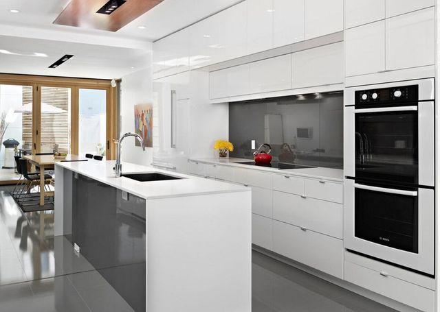 Cocinas Blancas Y Grises Cocina Gris Madrid Cocieco
