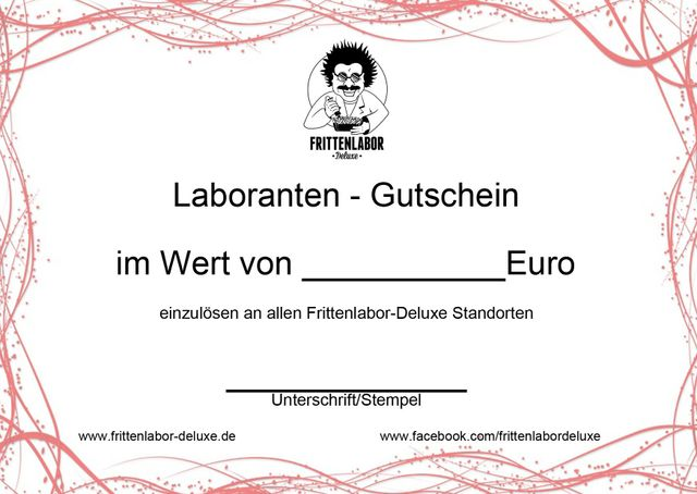 Laborantengutschein