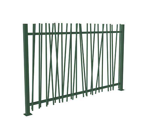 Verjas jardin trendy free talleres metalicos julian cierres verjas carpinteria estructuras en - Verjas de madera para jardin ...