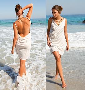 Pour l/ét/é Avec bandeau Robe de plage sans manches pour b/éb/é la mer la plage