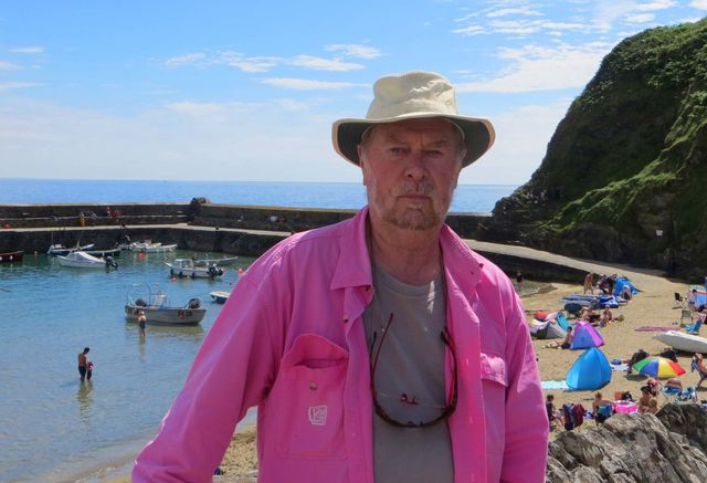 Andy Sinden half of L A Kent author of The Inspector Treloar Mysteries