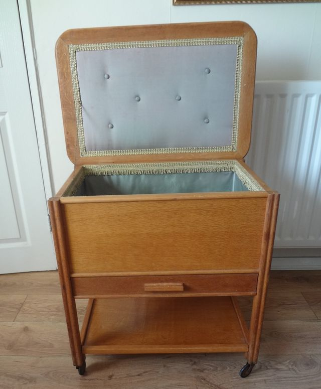 Retro Sewing Box Table C1950s