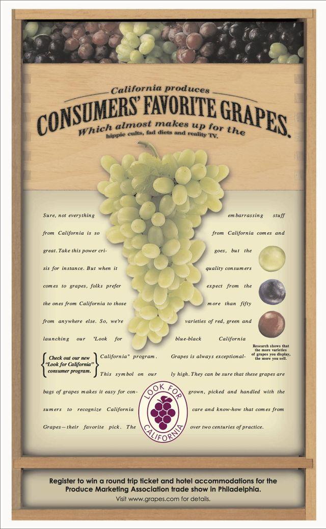 California Table Grapes