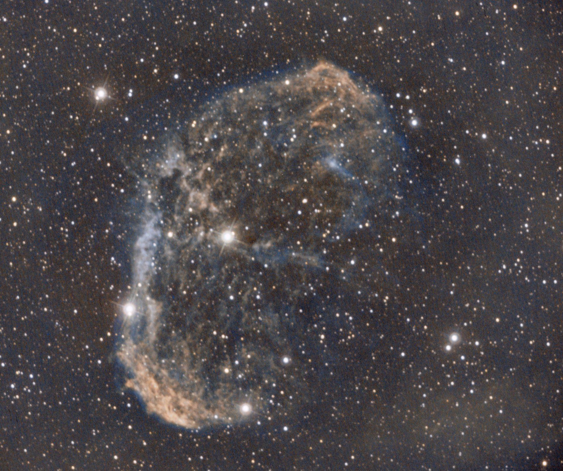 ملف:Carina Nebula around the Wolf-Rayet star WR 22.jpg
