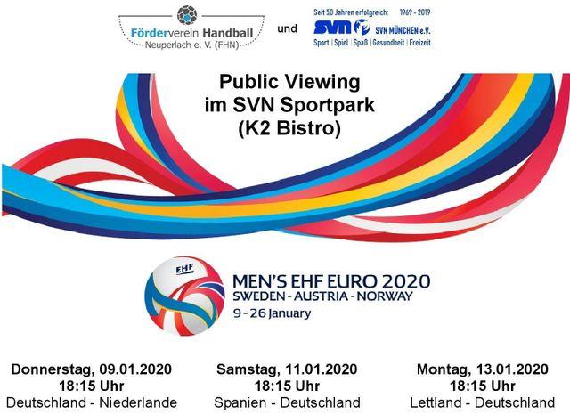 Die Handball Em 2020 Steht Vor Der Tur