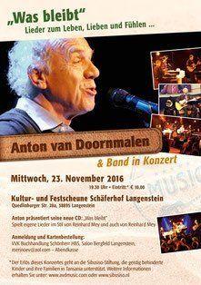 Benefizkonzert Anton van Doornmalen